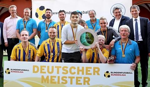 Amtierender Deutscher-Meister: Die SF Blau-Gelb Blista Marburg